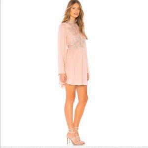 Free People Divine Lace Mini Dress